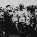 Ike with Soldiers