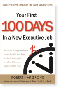 First 100 Days in a New Executive Job